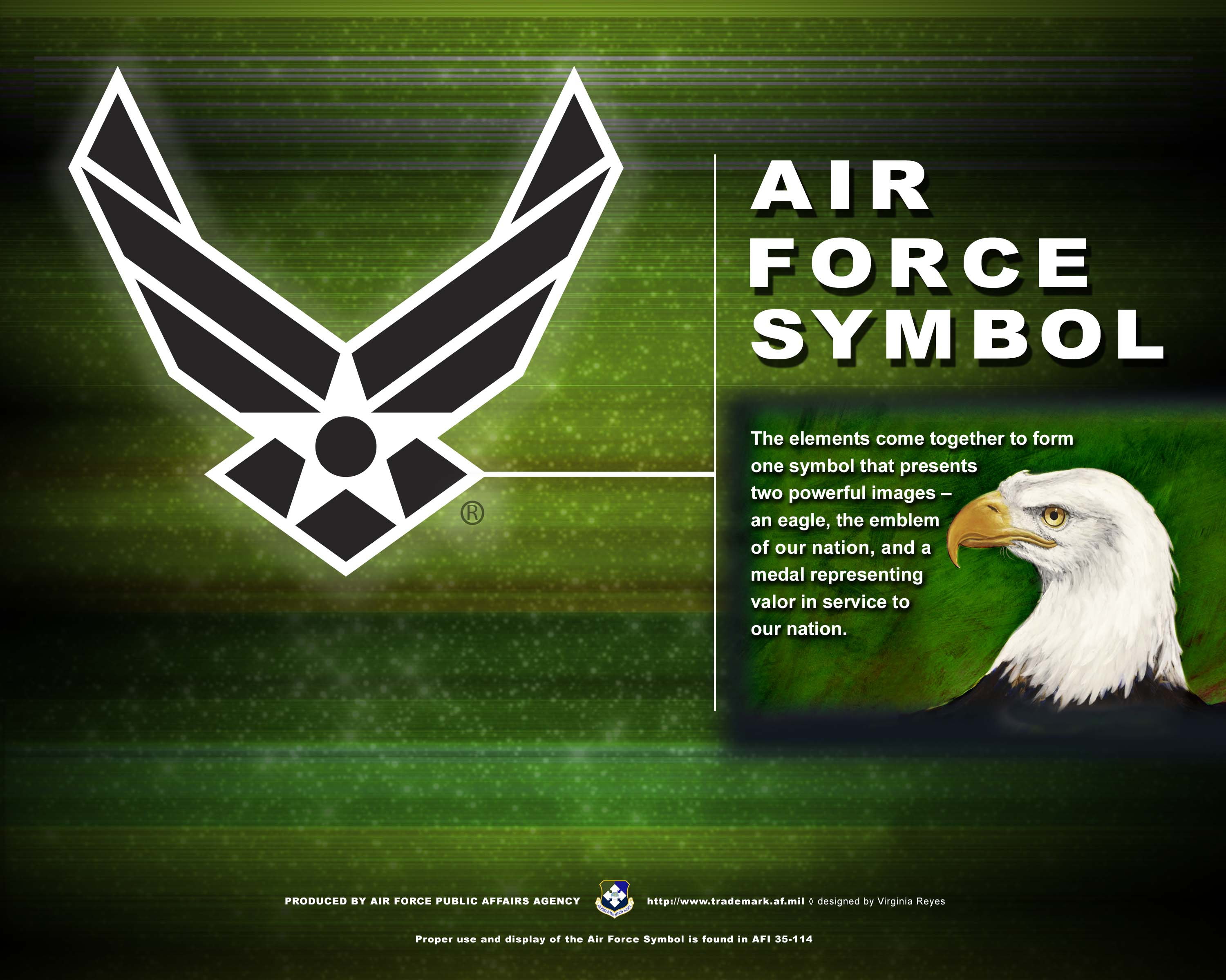 Af branding trademark licensing about us the air force symbol air force symbol vertical horizontal buycottarizona Gallery